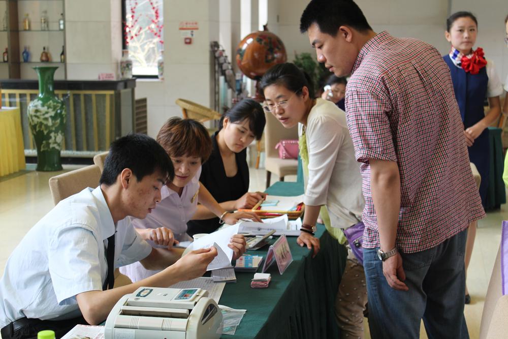 中餐主题宴会设计赛项的各代表队齐聚山东旅游职业
